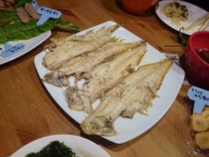 岡山・豊栄水産から来た黒下のバターソテー