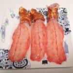 イバラガニモドキの刺身は「超高級レアかにかま」みたいな味でした