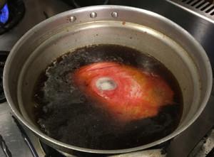 満を持して赤い魚が登場…メヌケ「アタシの煮つけは絶品よ!」
