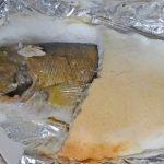 最上川のアユをたらふく食べて育ったブラックバスを食べた②:塩釜焼きってどうでしょう