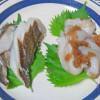 アイナメの卵とハタハタの卵(ブリコ)の醤油漬け