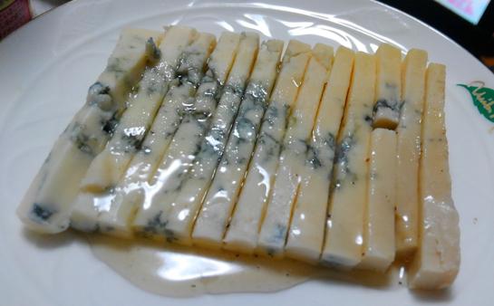 ブルーチーズにかけると最強