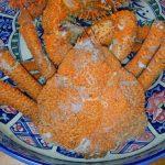マルヨシ商店さんで買ったおめでたい深海ガニを食べてみた!①:コフキガニことツブエゾイバラガニ