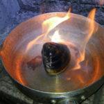 ハマグリのガソリン焼きもどきをやってみた