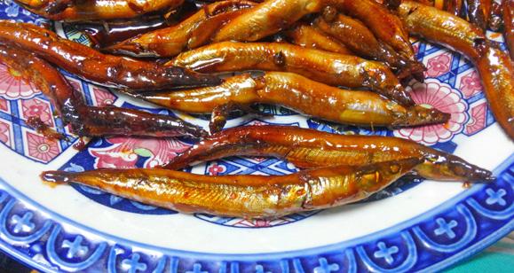 イカナゴとフキノトウで早春堪能かき揚げ丼