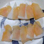 アブラソコムツのからすみ「油魚子」の代用品をアブラボウズの卵巣で作れないかしら