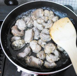 イソギンチャク,スペイン,料理