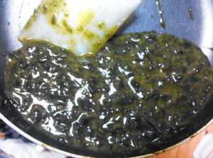 イボツノマタ,新海草,料理