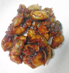 シロボヤ,料理,チム,韓国料理