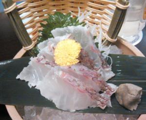 庄屋,深海鯛,マダイ,刺身