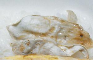 タマゴタケ,殻,料理