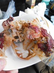 タカアシガニ,料理,戸田,ほほ肉